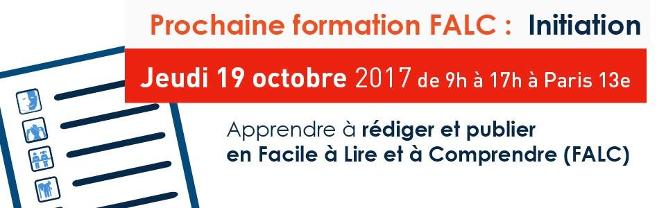 Prochaine formation initiation au FALC  le 19 octobre 2017