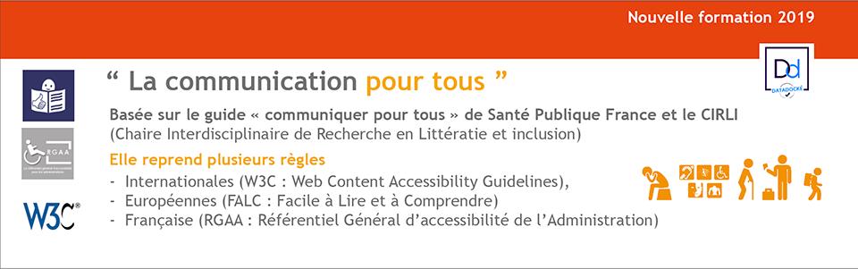 """Formation """"La communication pour tous"""""""