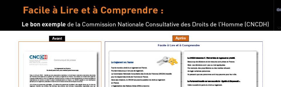 Le bon exemple de la CNCDH