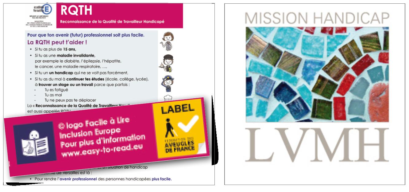 Exemples pour l'Académie de Versailles et LVMH, voir le site de Contre courant Création
