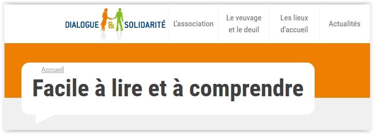 Dialogue & Solidarité se met au FALC