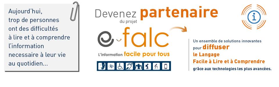 Devenez partenaire du projet e-falc !
