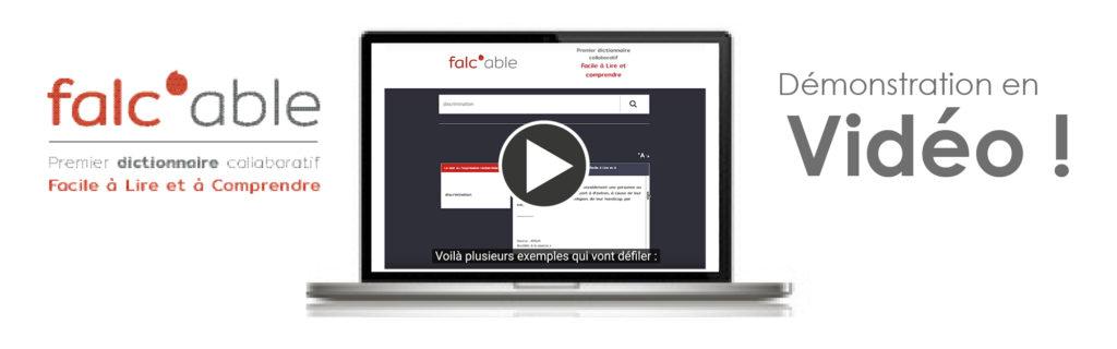 Vidéo de démonstration de Falc'able sur Youtube