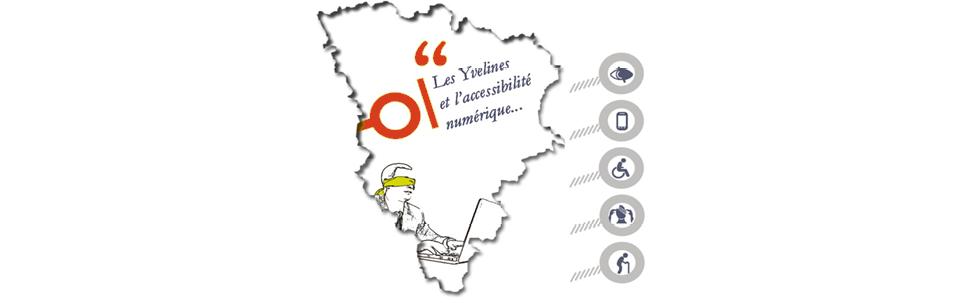 Les mairies des Yvelineset l'accessibilité numérique en 2017